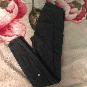 gray Lululemon leggings